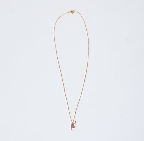 Undercover Pink Necklace With Cat Charm