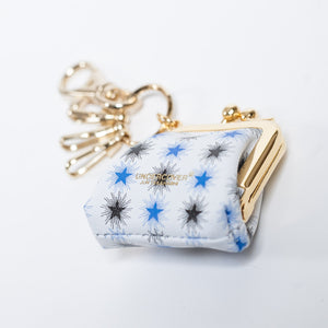 Undercover White Wallet Key Chain