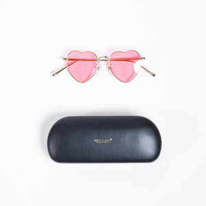 Undercover Pink Heart Shape Sunglasses