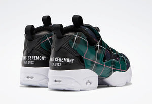 Reebok Instapump Fury OG Opening Ceremony Green Plaid