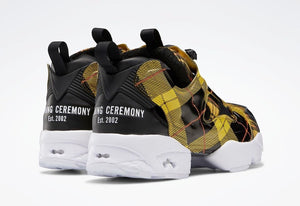 Reebok Instapump Fury OG Opening Ceremony Yellow Plaid