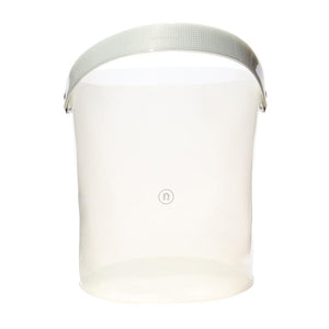 PVC BUCKET MILKY WHITE