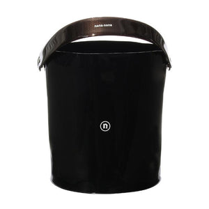 PVC BUCKET BLACK OPAQUE