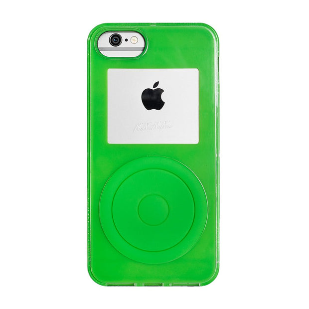 Not a Music Player iPhone XS Neon Green