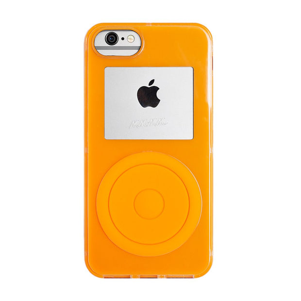 Not a Music Player iPhone XS Neon Orange