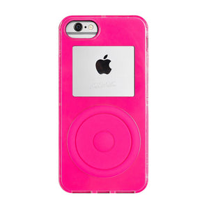 Not a Music Player iPhone XS Neon Pink
