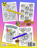 OMG Hanukkah Coloring Book: 24 Really Fun Coloring Pages