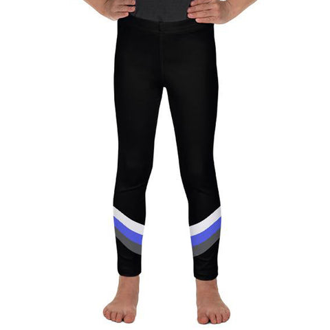 Tri-Stripe (Black & Blue)