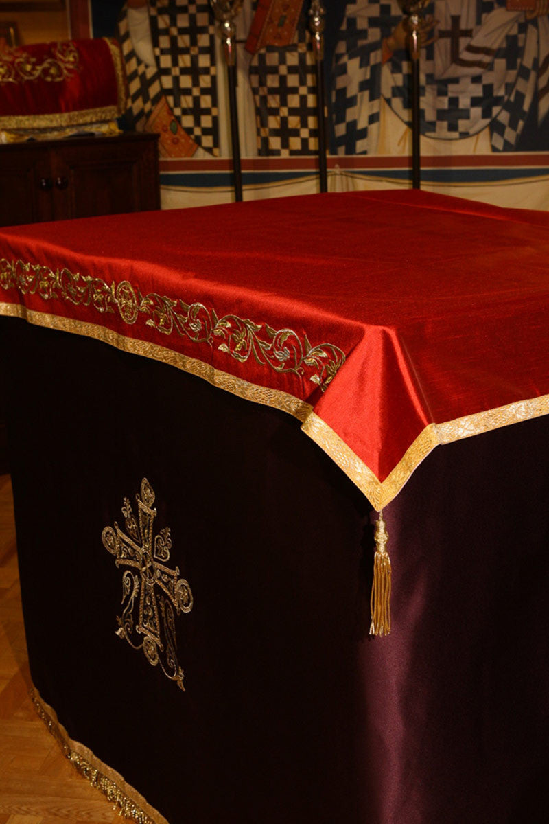 Lenten Holy Table Covers
