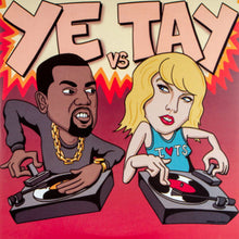 "Load image into Gallery viewer, Ye Vs Tay - Skratch Snobs 7"" RED"