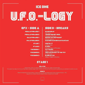 ICE ONE - U.F.O.-LOGY 12""