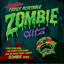 "Load image into Gallery viewer, Killer Portable Zombie Cutz (7"") - Violet"