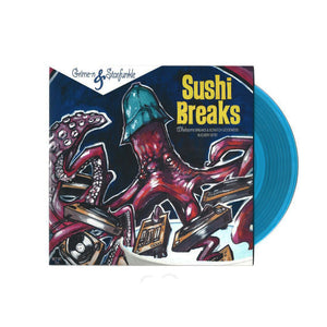 Grime-N and Starfunkle present Sushi Breaks - Blue 7""