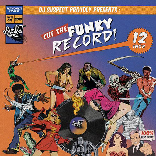 Dj Suspect proudly present : Cut the funky Record (12
