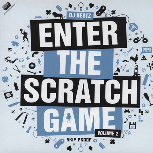 DJ Hertz – Enter The Scratch Game Volume 2 (12