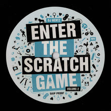 "Load image into Gallery viewer, DJ Hertz – Enter The Scratch Game Volume 2 (12"") - Black"