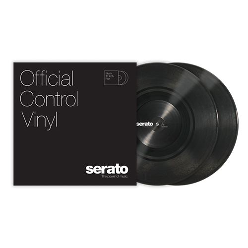 Serato Standard Colors - Black (Pair) 10