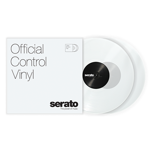 Serato Standard Colors - Clear (Pair) 12
