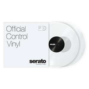 Serato Standard Colors - Clear (Pair) 12""