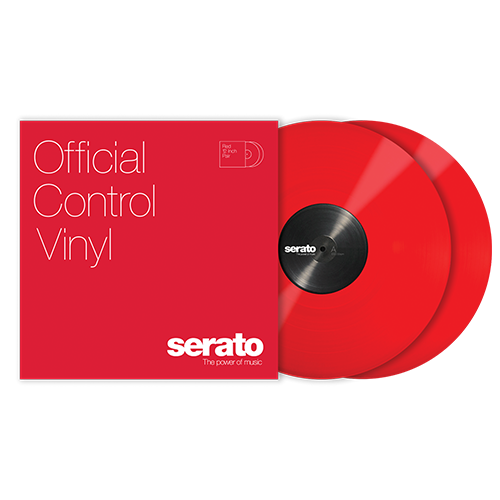 Serato Standard Colors - Red (Pair) 12