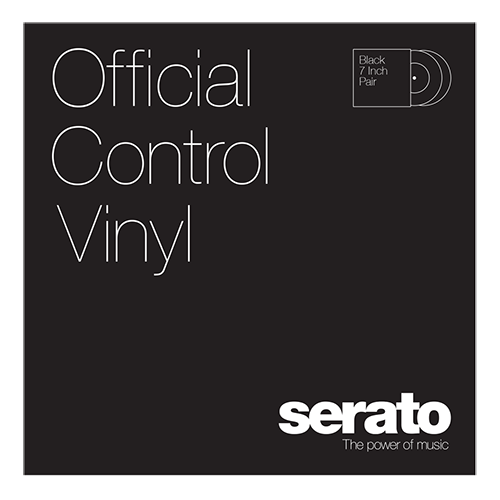 Serato Standard Colors - Black (Pair) 7