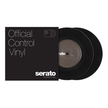 Load image into Gallery viewer, Serato Standard Colors - Black (Pair) 7""