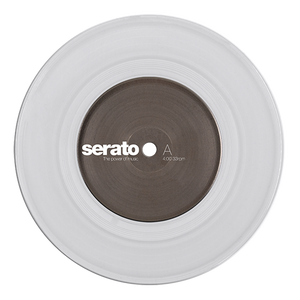 Serato Standard Colors - Clear (Pair) 7""
