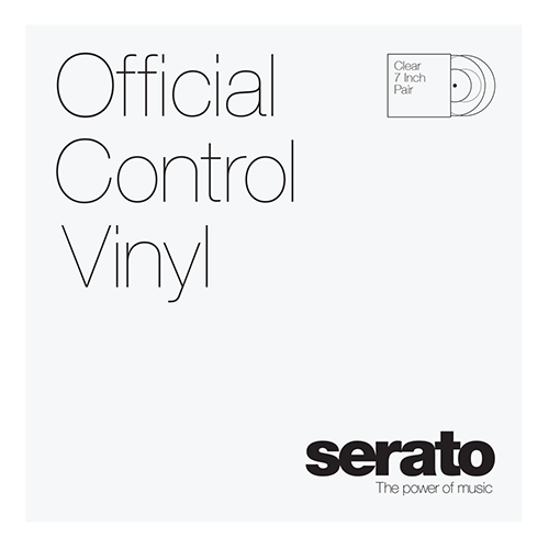 Serato Standard Colors - Clear (Pair) 7