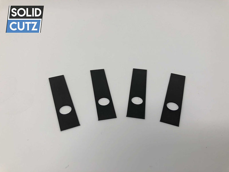 PHASE MAGNETIC PLATE BLACK / 4 PIECE - Solid Cutz