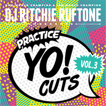 "Load image into Gallery viewer, Practice Yo! Cuts Vol.3 - Ritchie Ruftone (12"") - TEAL"