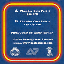 "Load image into Gallery viewer, Aeon Seven - Thunder Cuts 2 (7"")"