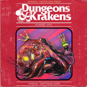 Dj Because & Dj Efechto presents Dungeons & Krakens - 7""