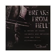 "Load image into Gallery viewer, Ghost ""Breaks from hell"" 7"" - Black"