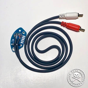 JDD Technics RCA Cable with internal ground PCB