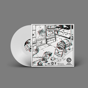 "Beep Aaah Fresh 3D by Ugly Mac Beer 12"" - White"