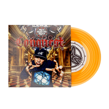 "Load image into Gallery viewer, Conquest by Mix Master Mike - 7"" - Orange"