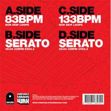 "Load image into Gallery viewer, Practice Yo! Cuts Meet Serato (7"") Dual - RED"