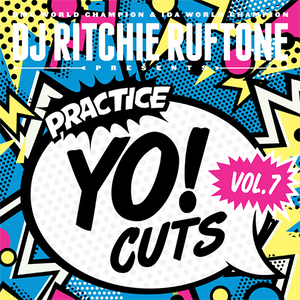 "Practice Yo! Cuts Vol.7 - Ritchie Ruftone (12"") - BLACK"