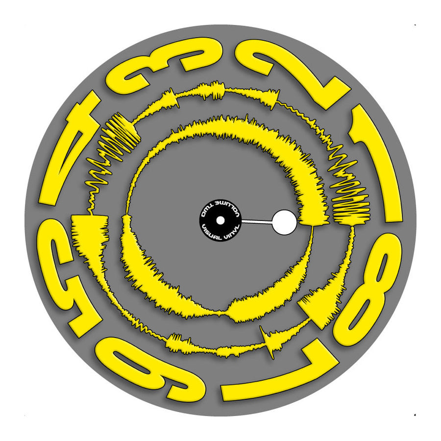 Visual Vinyl Vol.02 - Yellow - Grey - Chris Karns (12