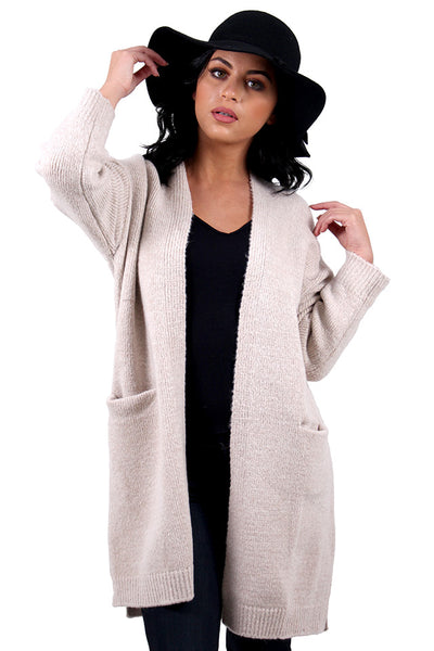 4f444ae0fa The Real Deal Beige Cardigan