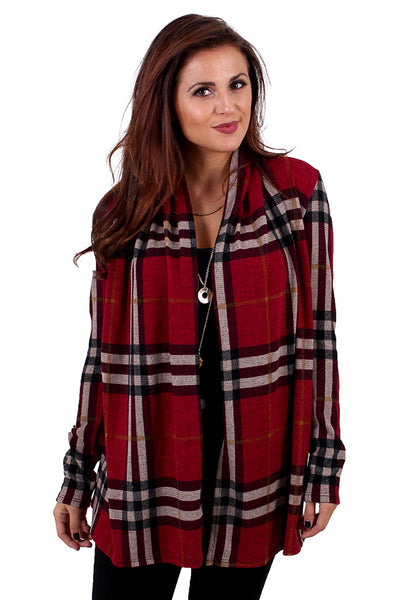 c36b7445fb Swift Addition Plaid Cardigan