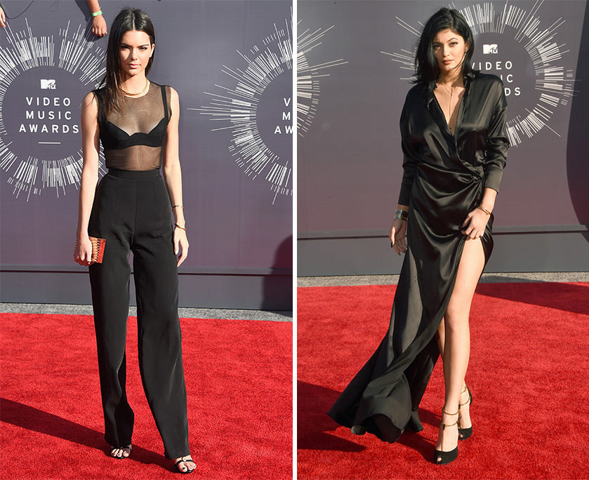8d761156 Kendall and Kylie Jenner gave us a 2-for-1 as far as best dressed for last  night. Both of these girls looked amazing in head to toe black.