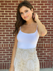 Layers On Layers White Cami