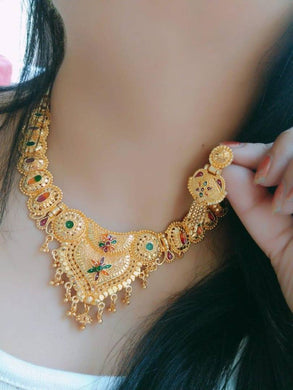 GOLD PLATED JEWEIIERY SET FOR WOMEN