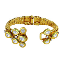 Load image into Gallery viewer, Ethnic Kundan Studded Openable Kada For Women