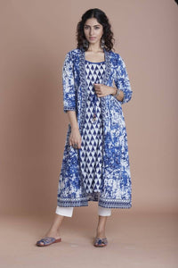 Gorgeous DC Kairi PC  blue  Kurti