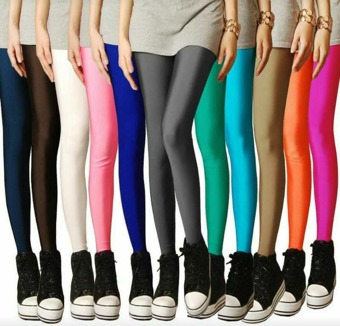 Women's Shinner lycra Leggings  1 piece.