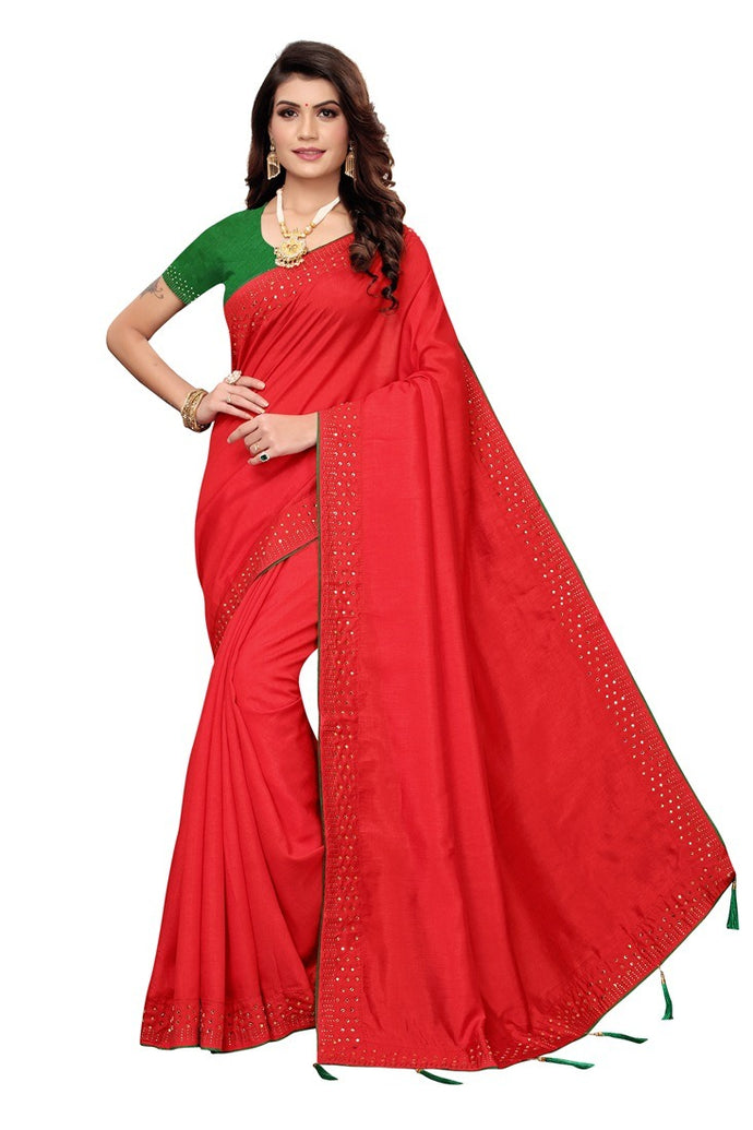 Designer Embroidered khatli Sarees in Zoya Silk  with Blouse piece in net
