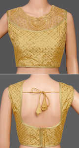 Readymade Full stich khatali neck work sequence Blouse 38