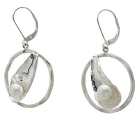 Sterling Silver & Pearl Earrings